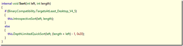 ArraySort implementation in .NET_2
